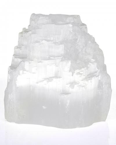 Selenit Teelicht Stufig, ca. 1,1 Kg, ca.10 cm