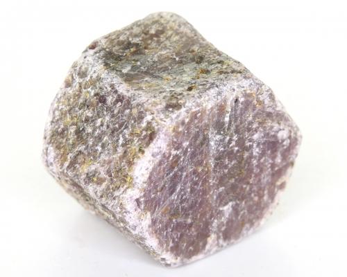 Rubin Rohstein, 6-eckiger Kristall, ca. 221 g, ca. 5 cm