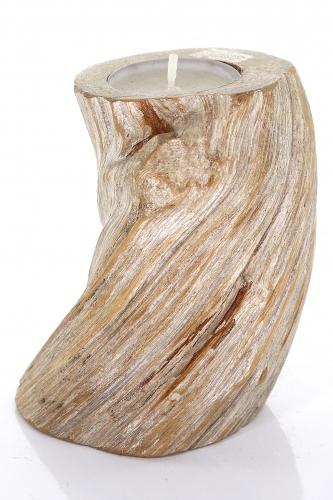 Liane Teelicht, Holz, ca. 10 cm