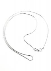 Schlangenkette 925er Silber ca. 45 cm lang