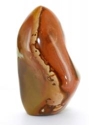 Polychromer Jaspis Freeform, Höhe ca. 10,5 cm