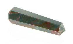 Heliotrop Massagestab, Griffel, eine Seite rund andere spitz