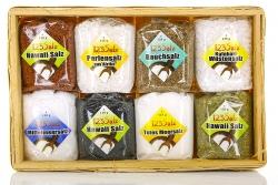 123Salz-Geschenkkorb mit bunten Salzspezialitäten