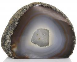 Achat Druse / Geode, A-Qualität, aus Brasilien, ca. 8,5 cm, ca. 600 g