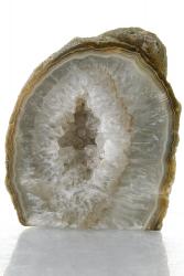 Achat Druse / Geode, A-Qualität, aus Brasilien, ca. 8 cm, ca. 453 g