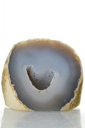 Achat Druse / Geode, A-Qualität, aus Brasilien, ca. 7 cm, ca. 256 g