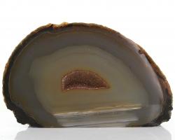 Achat Druse / Geode, A-Qualität, aus Brasilien, ca. 8 cm, ca. 541 g