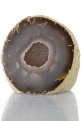 Achat Druse / Geode, A-Qualität, aus Brasilien, ca. 8 cm, ca. 428 g