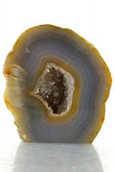 Achat Druse / Geode, A-Qualität, aus Brasilien, ca. 7,5 cm, ca. 441 g