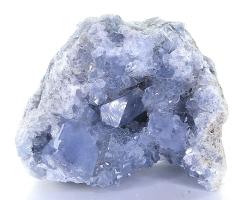 Coelestin blau Druse, schöne Kristalle, ca. 1175 g schwer