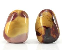 Mookait, Trommelsteine, Gewicht ca. 168 g, Herkunft Australien