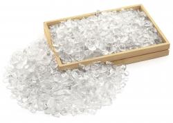 Bergkristall Trommelsteine, Ladesteine, klare A-Qualität, 500 g