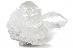 Bergkristall Stufe, Gruppe, Kristall aus Brasilien, A Qualität