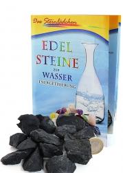 Schungit Rohsteine, 200 g, Wassersteine, Shungit Wasserenergetisierung