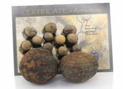 1 paar Moqui Marbles XL 5,6 bis 5,8 cm, männlich und weiblich, mit Zertifikat