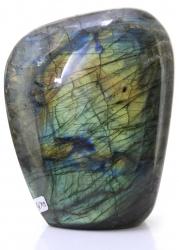 Labradorit Edelstein Freeform, ca.1,4 Kg, A-Qualität, großer Trommelstein, aus Madagaskar