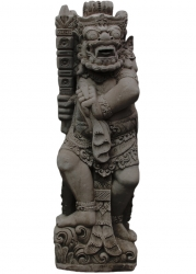 Tempelwächter aus Indonesien ca. 90 cm, massive Ausführung
