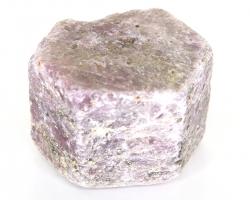 Rubin Rohstein, 6-eckiger Kristall, ca. 214 g, ca. 5 cm