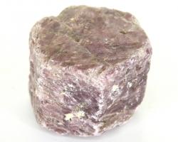 Rubin Rohstein, 6-eckiger Kristall, ca. 412 g, ca. 6 cm