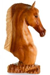 Pferdekopf aus Suarholz, Handarbeit aus Bali, ca. 50 cm