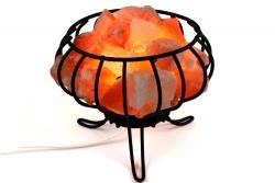 Feuerkorb Salzlampe