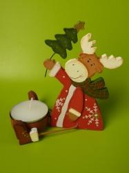 Weihnachtselch-Teelicht