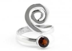 Granat Ring, Ringgröße 55